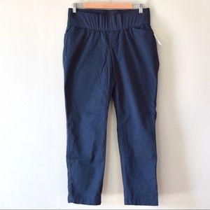 GAP Maternity Pants, Blue, Size 8